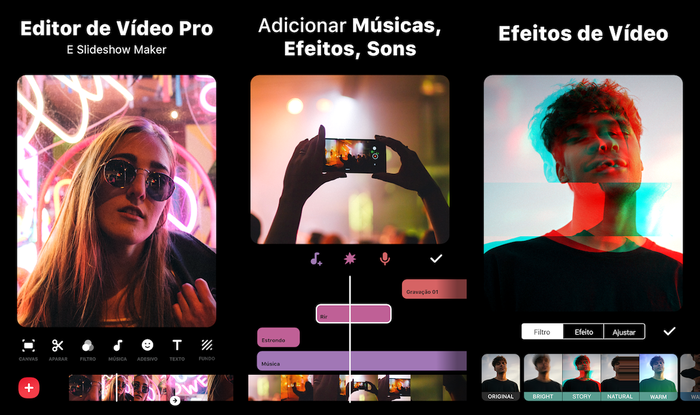 Inshot Aplicativo editor de videos